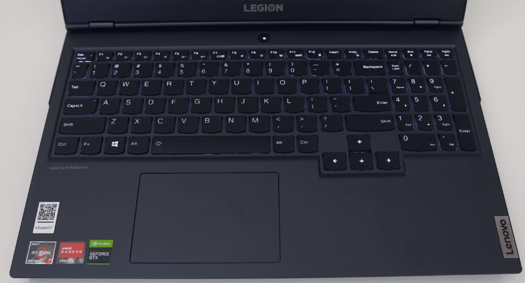 Lenovo Legion 5 Teclado