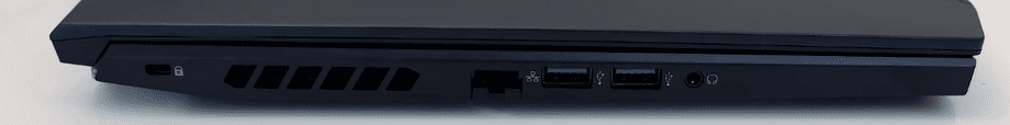 Acer Helios 300 2020 parte izquierda