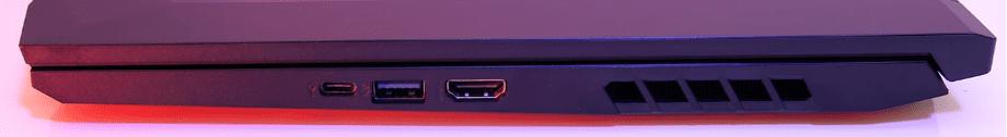 Acer Nitro 5 AN515-44 parte derecha
