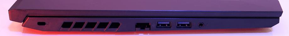 Acer Nitro 5 AN515-44 parte izquierda