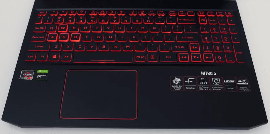 Acer Nitro 5 AN515-44 teclado