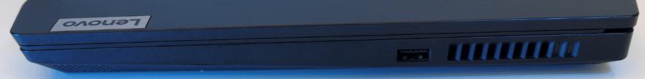 Lenovo Ideapad Gaming 3 15ARH05 parte derecha