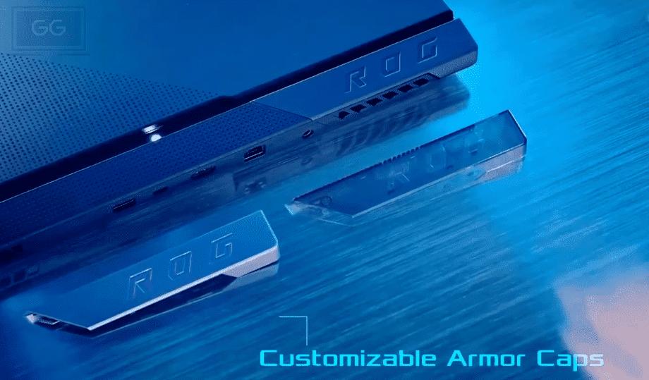 Asus 2021 Scar armor caps